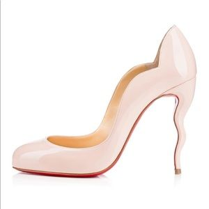 Christian Louboutin Nude Bellerina Wawy Dolly